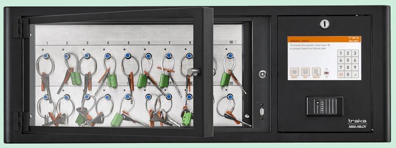sistema de control de llaves M Touch 20 posiciones